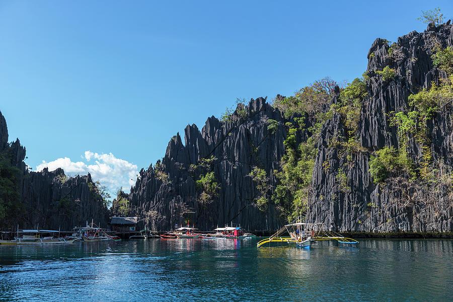 Lagoon, Coron, Palawan, Phillippines Photograph by John Harper