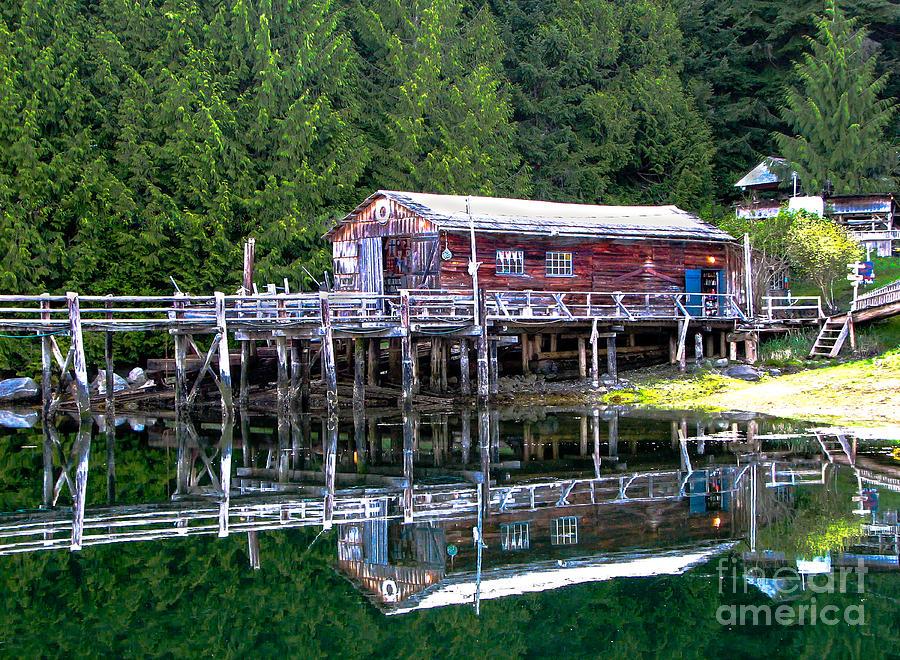 British Columbia Photograph - Lagoon Cove by Robert Bales
