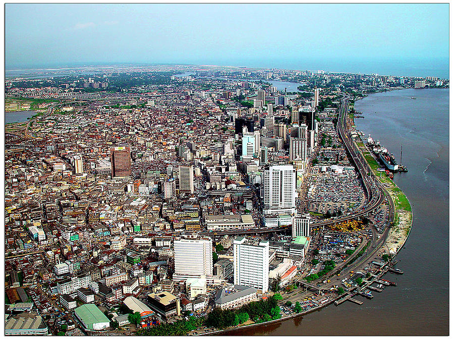Urban Photograph - Lagos by Alex Bartel/science Photo Library