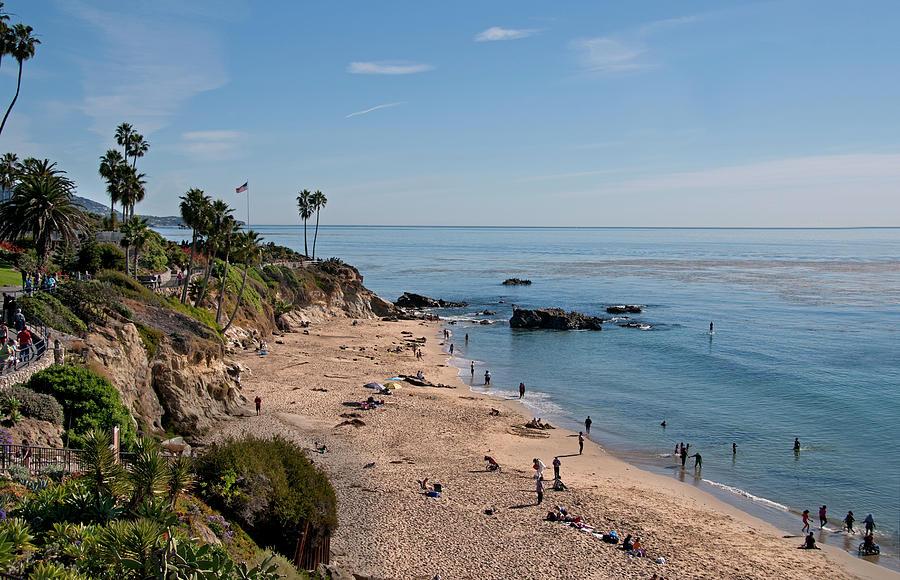 Laguna Beach Cove Photograph by Mitch Diamond