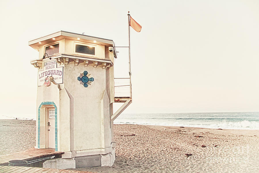 Laguna Beach Lifeguard by Kate McKenna