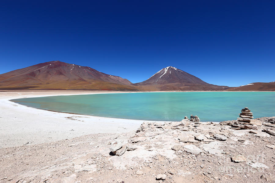 Bolivia Photograph - Laguna Verde Bolivia by James Brunker