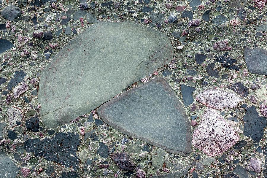 Lahar Photograph - Lahar Deposit Rock Sample by Dr Juerg Alean