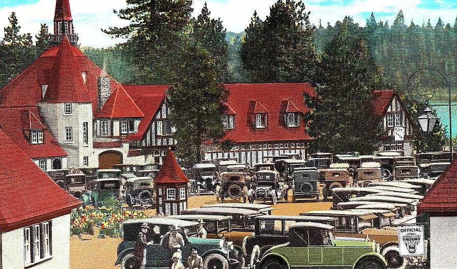 Lake Arrowhead Village Photograph By Kevin Felts