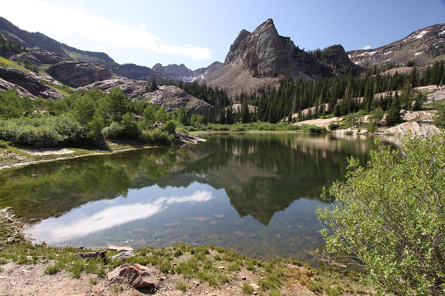 Mountains Photograph - Lake Blanche by Darryl Wilkinson