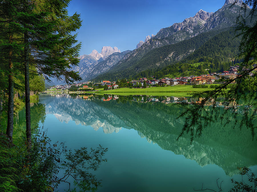 Lake. Color Image Photograph by Claudio.arnese