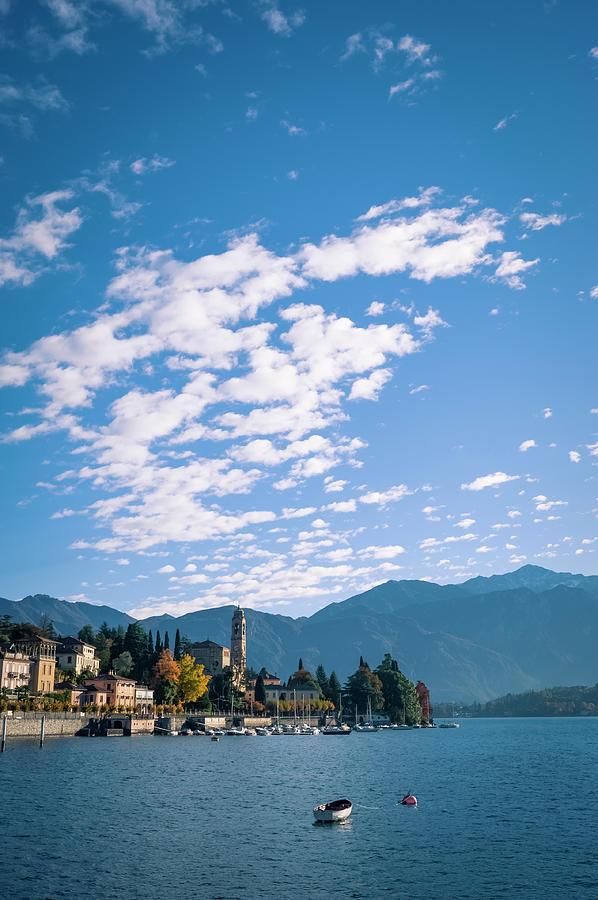 Lake Como Town, Italy Photograph by Cirano83