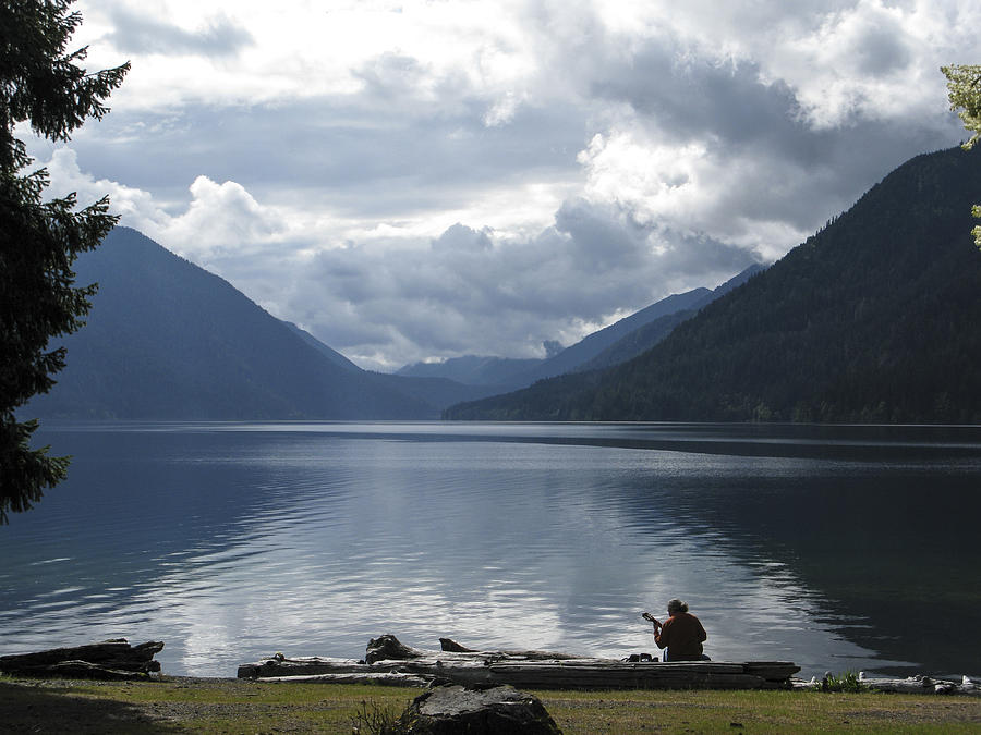 Lake Crescent Photograph - Lake Crescent by Jill Bell