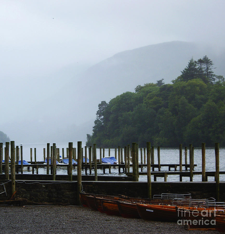 Rain Photograph - Lake District For A Reason by Malcolm Suttle