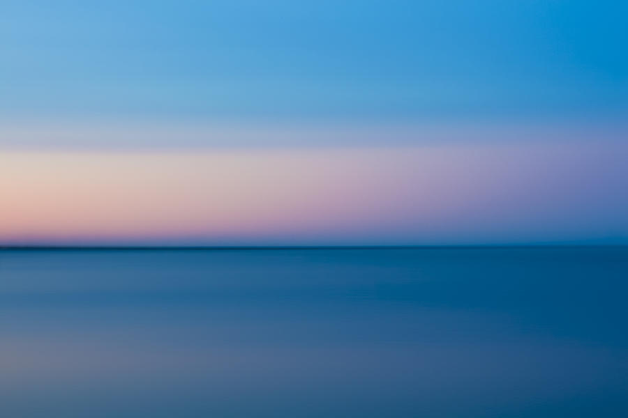 Lake Erie Sunset Photograph - Lake Erie Sunset by Adam Kilbourne