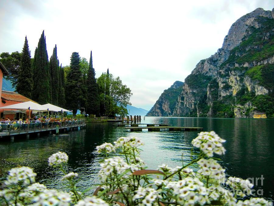 La Photograph - Lake Garda by Mariola Bitner