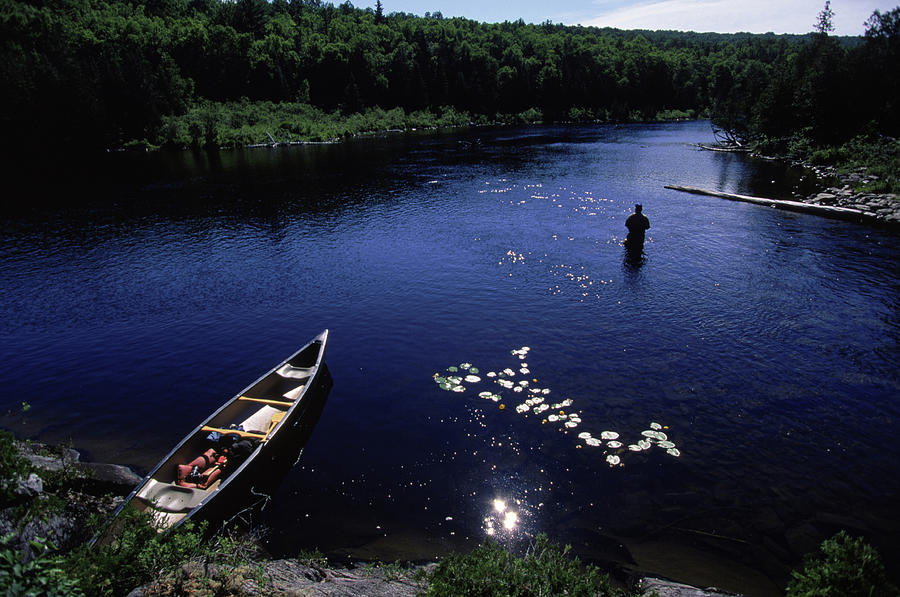 America Photograph - Lake Guiding Sports Fishing by Jose Azel