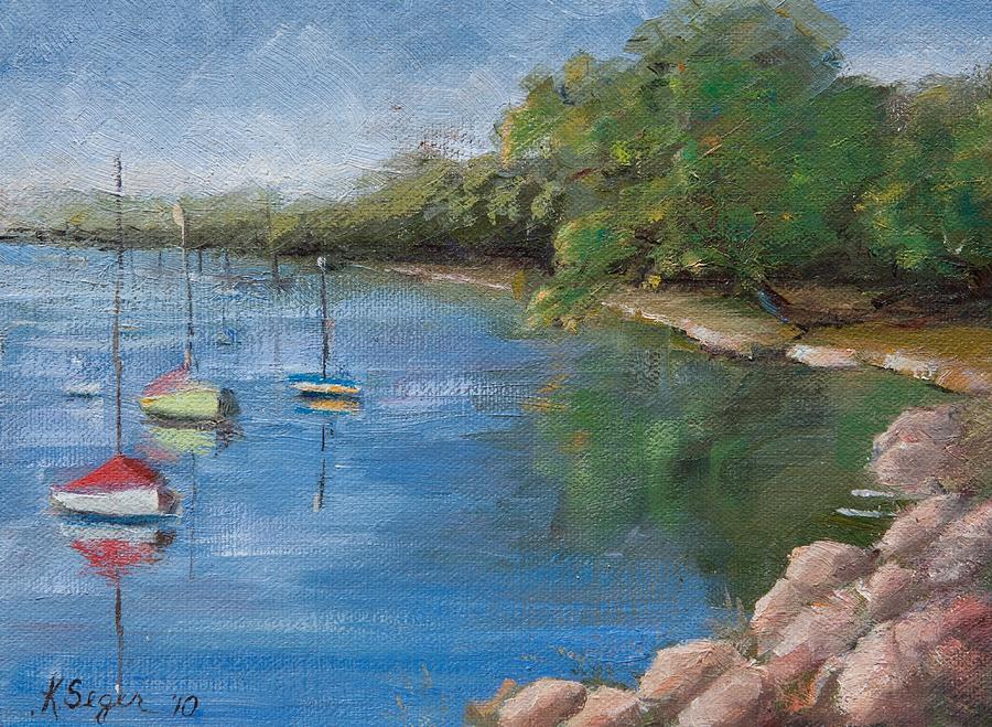 Lake Harriet Painting - Lake Harriet by Katherine Seger