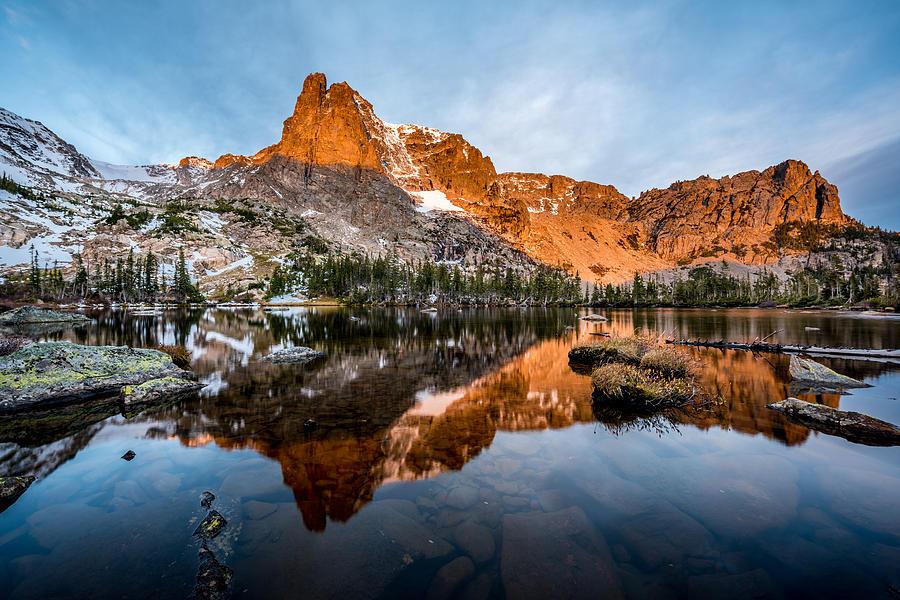 Rocky Mountain National Park Photograph - Lake Helene by Robert Yone