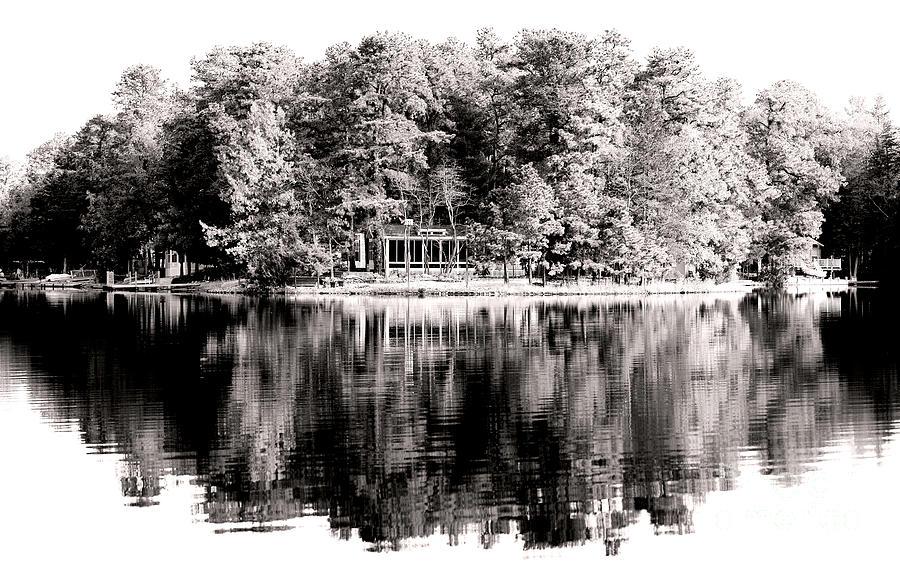 Lake House Photograph - Lake House by John Rizzuto