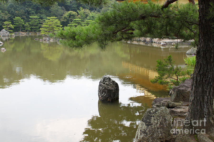 Lake Photograph - Lake In Japan by Evgeny Pisarev