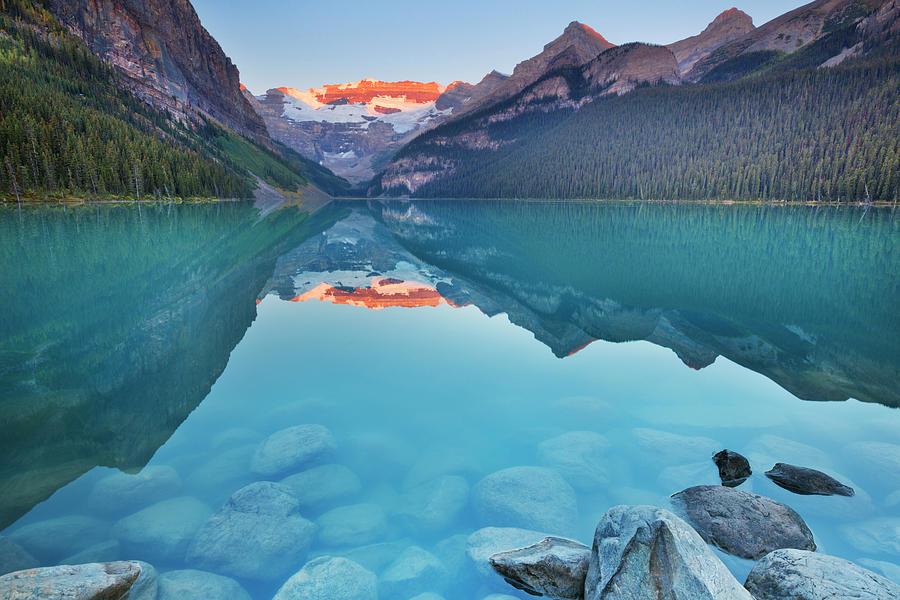 Lake Louise, Banff National Park Photograph by Sara winter