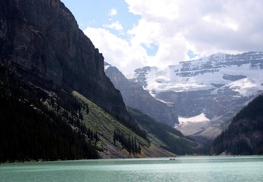 Lake Louise In Banff Photograph - Lake Louise by Carolyn Ardolino