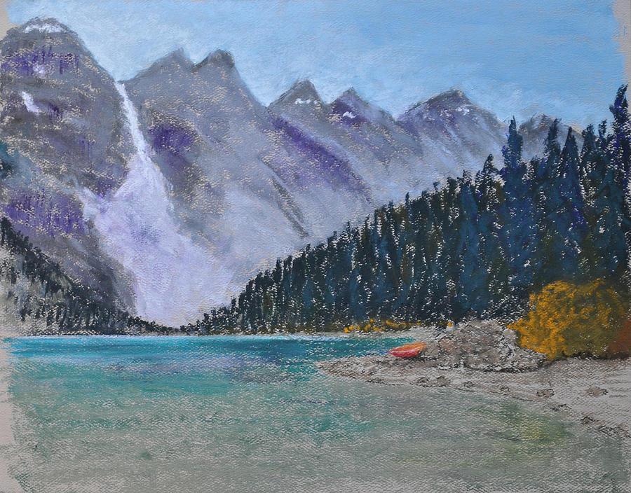 Lake Pastel - Lake Louise by Marina Garrison