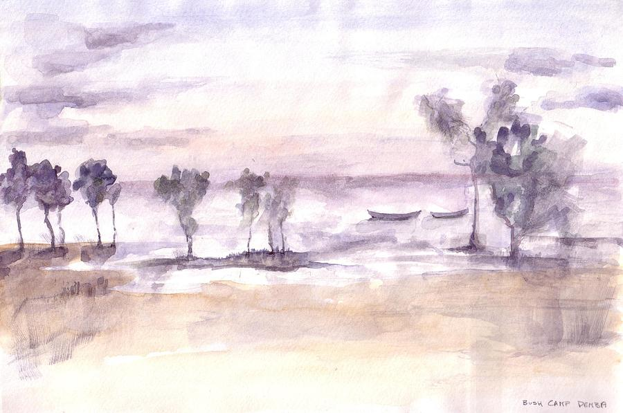 Painting - Lake Malawi by David  Hawkins