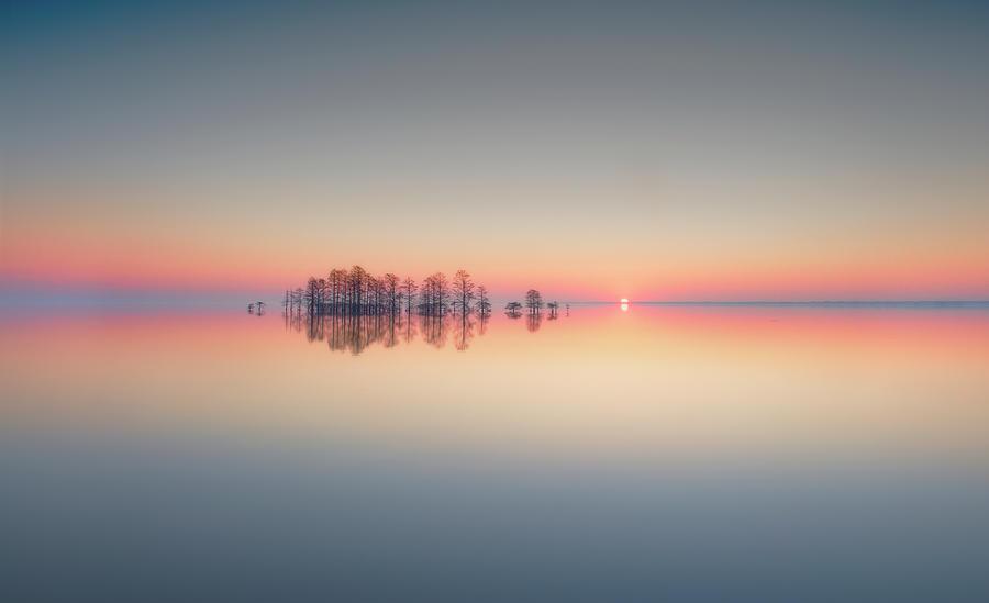 Lake Photograph - Lake Mattamuskeet Memory by Liyun Yu