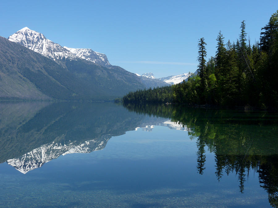 Lake Mcdonald Glacier National Park Photograph By