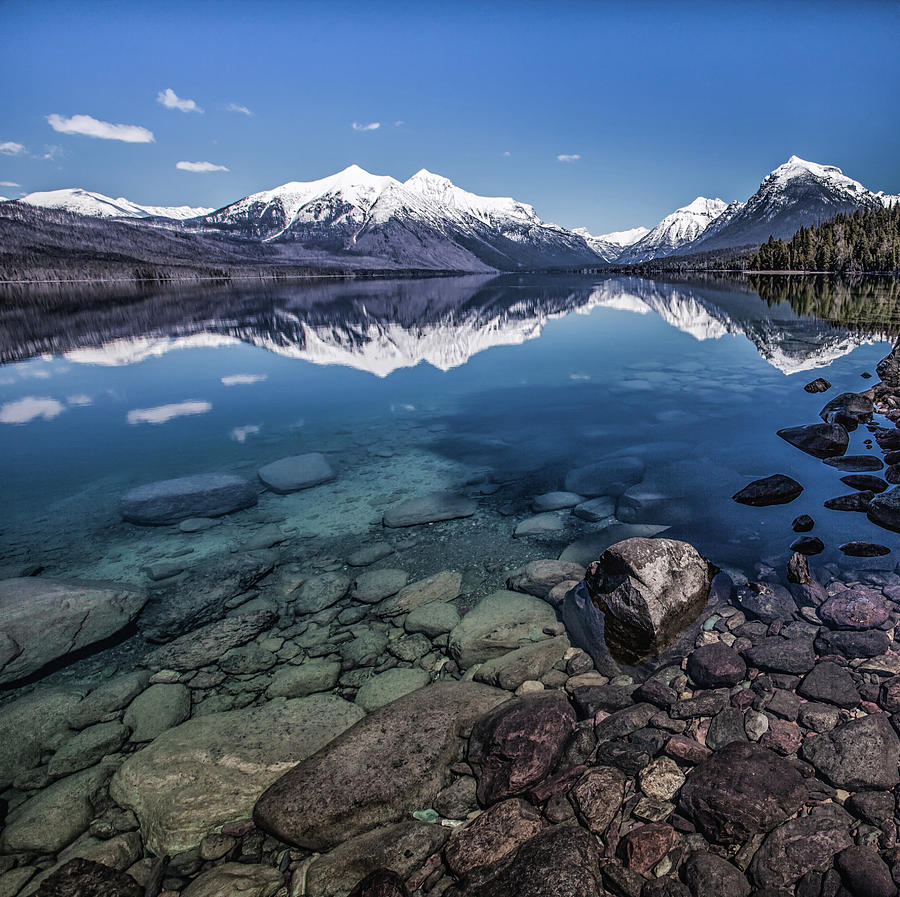 Lake Mcdonald, Montana Photograph by Aaron Aldrich Fine Art