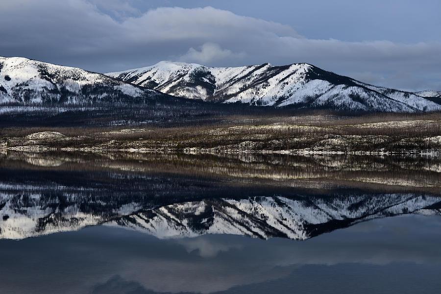 Lake Mcdonald Reflection 2 Photograph