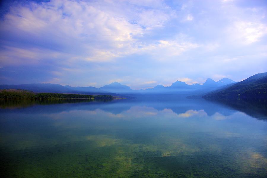 Lake Photograph - Lake Mcdonald by Terry Horstman