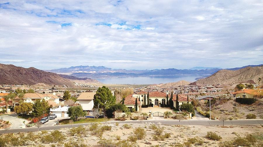 Lake Mead As Seen From Boulder City Photograph by Abbie M. Redmon