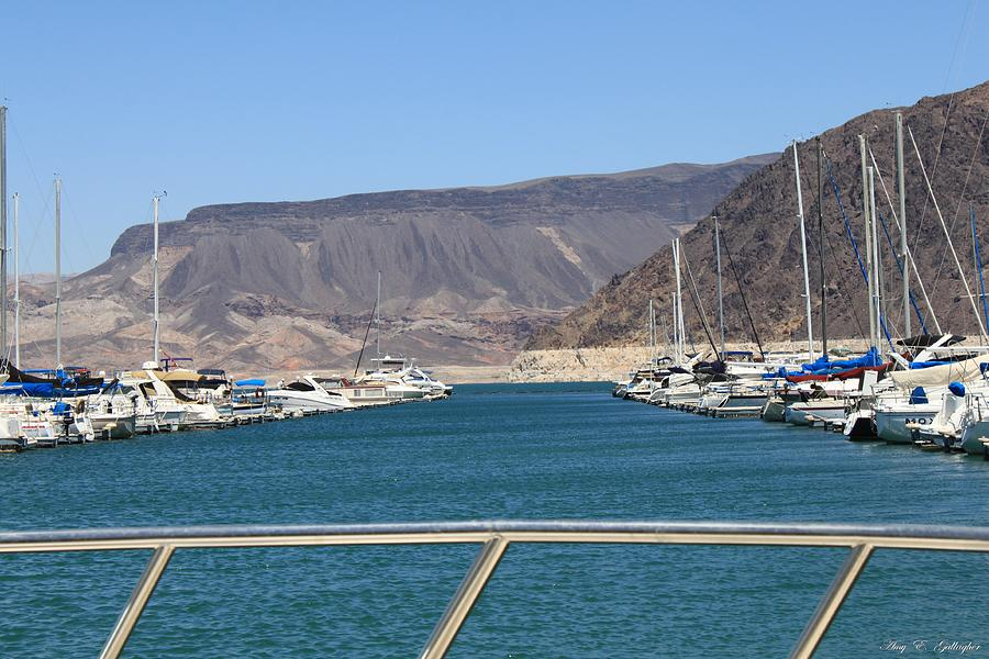 Lake Mead From The Marina Photograph