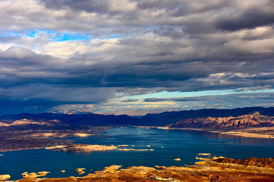 Lake Mead Thunderstorm Photograph by Amanda Miles