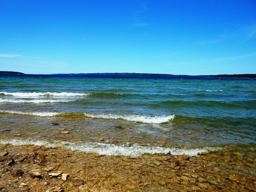 Lake Photograph - Lake Michigan by Tracey Griffor