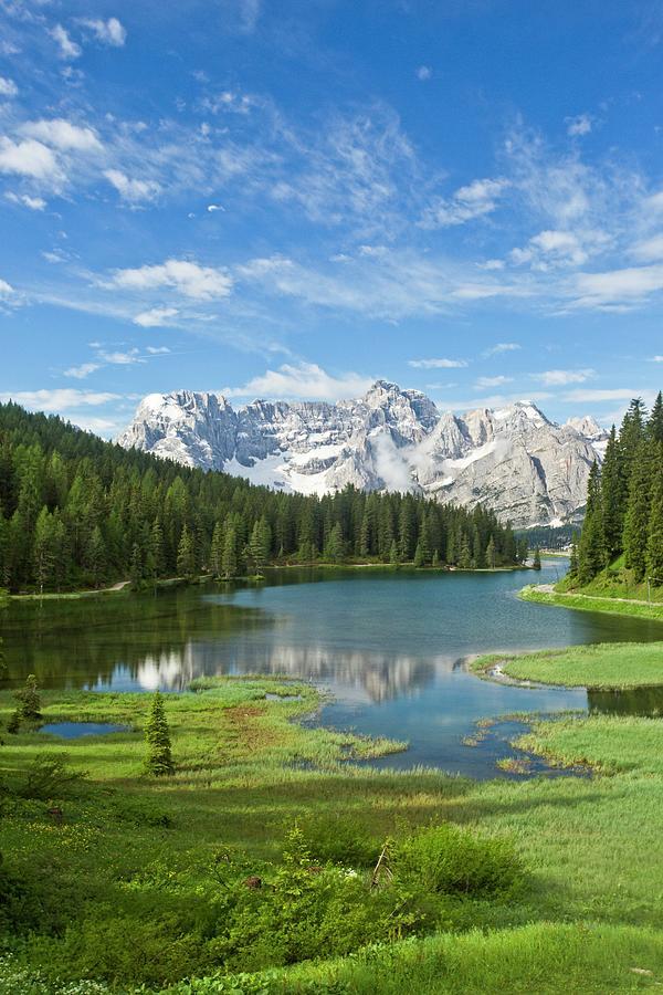 Nobody Photograph - Lake Misurina by Bob Gibbons