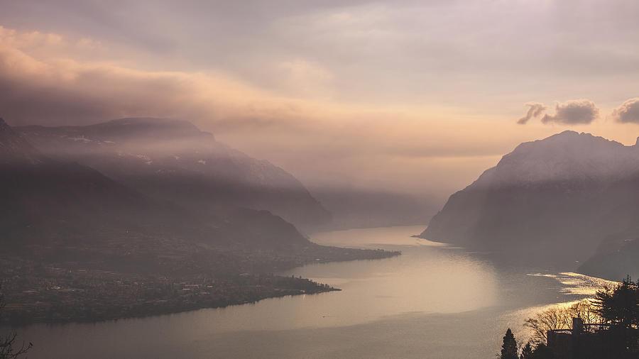 Lake Of Como, Italy Photograph by Deimagine