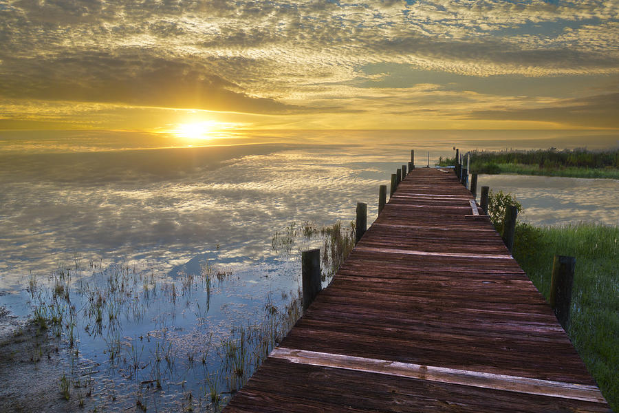 Boats Photograph - Lake Of Enchantment by Debra and Dave Vanderlaan