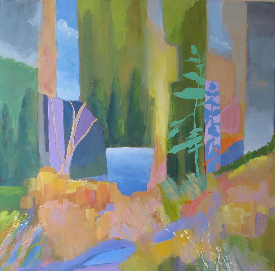 Landscape Painting - Lake Of The Woods by John Nussbaum