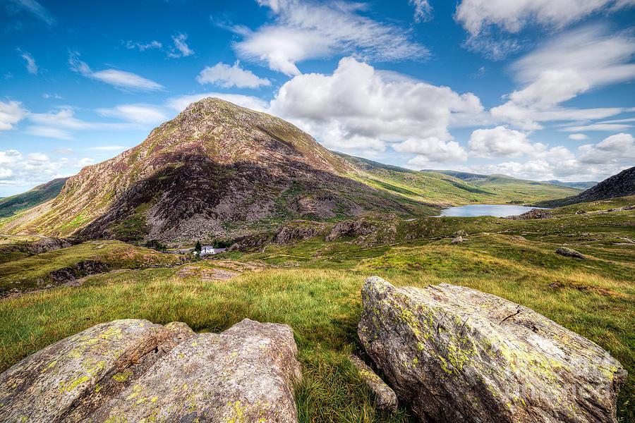 Hdr Photograph - Lake Ogwen by Adrian Evans