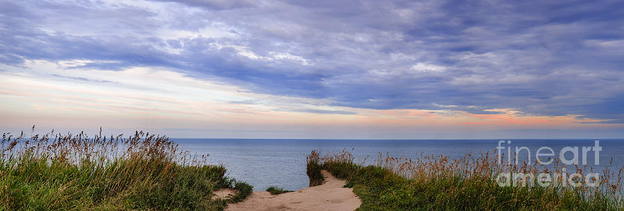 Landscape Photograph - Lake Ontario At Scarborough Bluffs by Elena Elisseeva