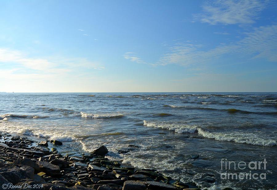 Lake Photograph - Lake Ontario December by Rennae Christman