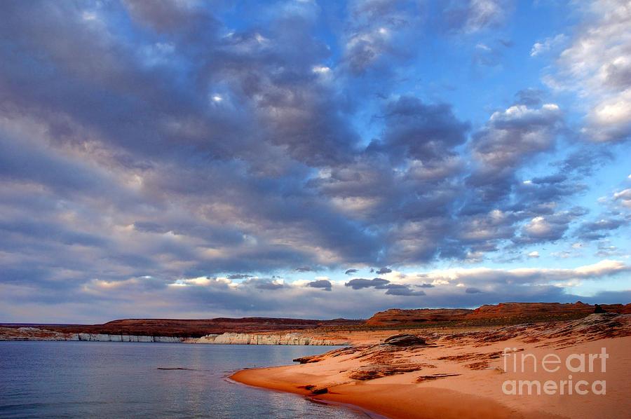 Lake Powell Photograph - Lake Powell Morning by Thomas R Fletcher