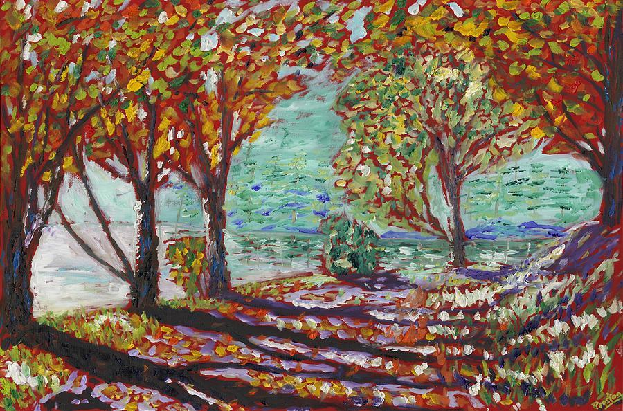 Impressionism Painting - Lake Road by Preston Sandlin