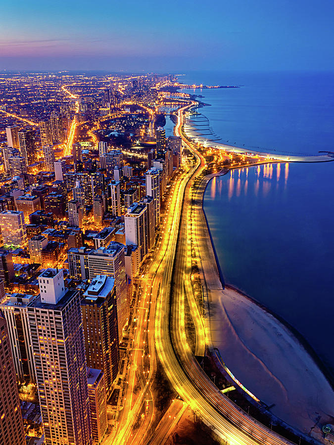 Lake Shore Drive Photograph by Carl Larson Photography