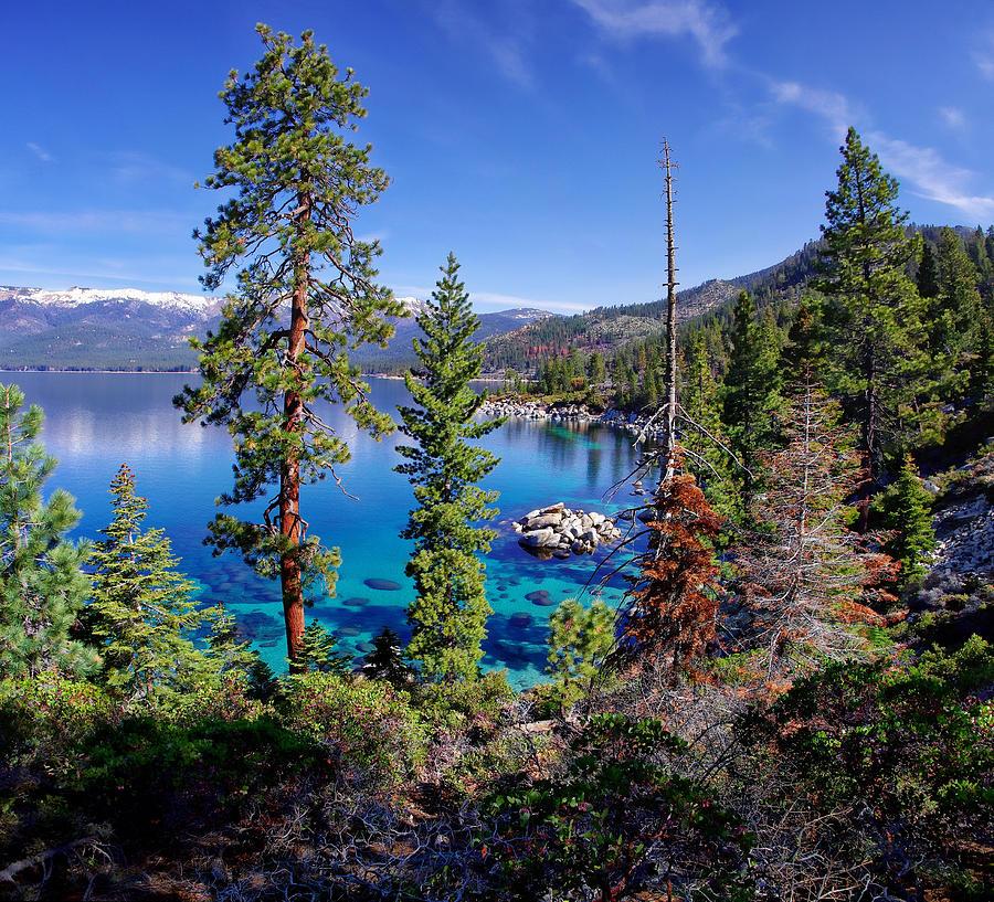 California Photograph - Lake Tahoe Eastern Shore by Scott McGuire