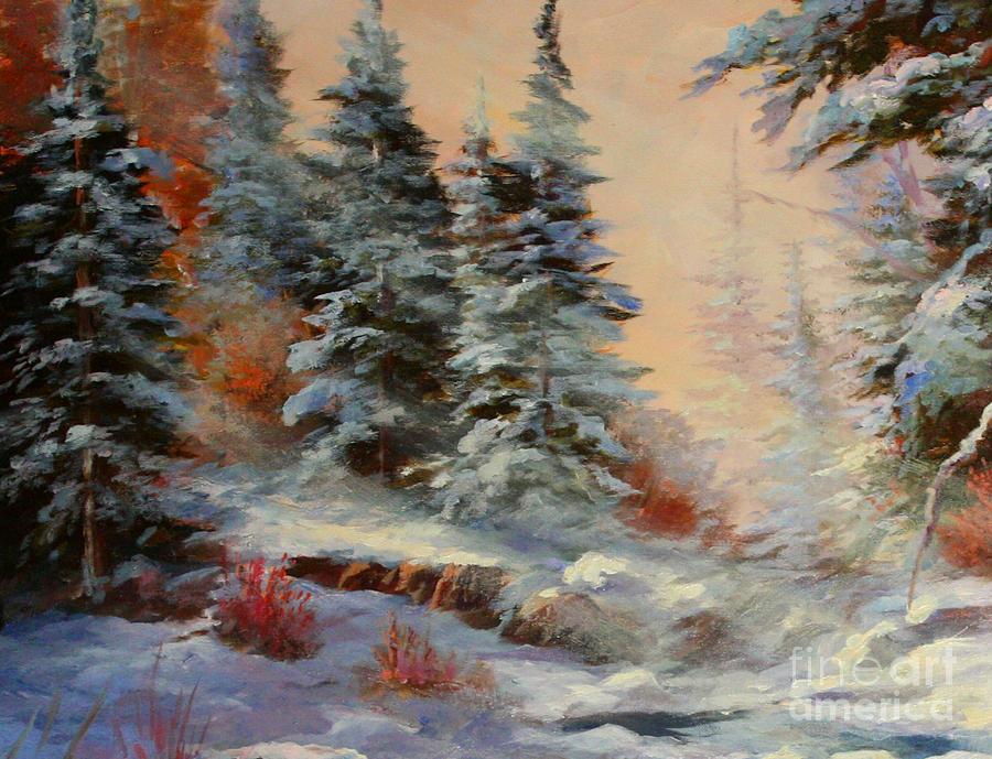 Landscape Painting - Lake Tahoe by Gail Salituri