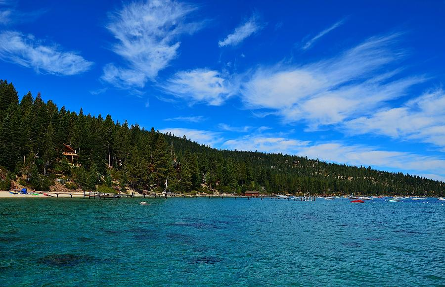 Lake Tahoe Rubicon Bay Beauty by Marilyn MacCrakin