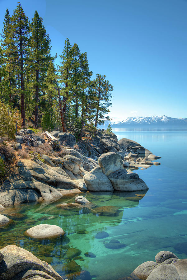 Lake Tahoe, The Rugged North Shore Photograph by Ed Freeman