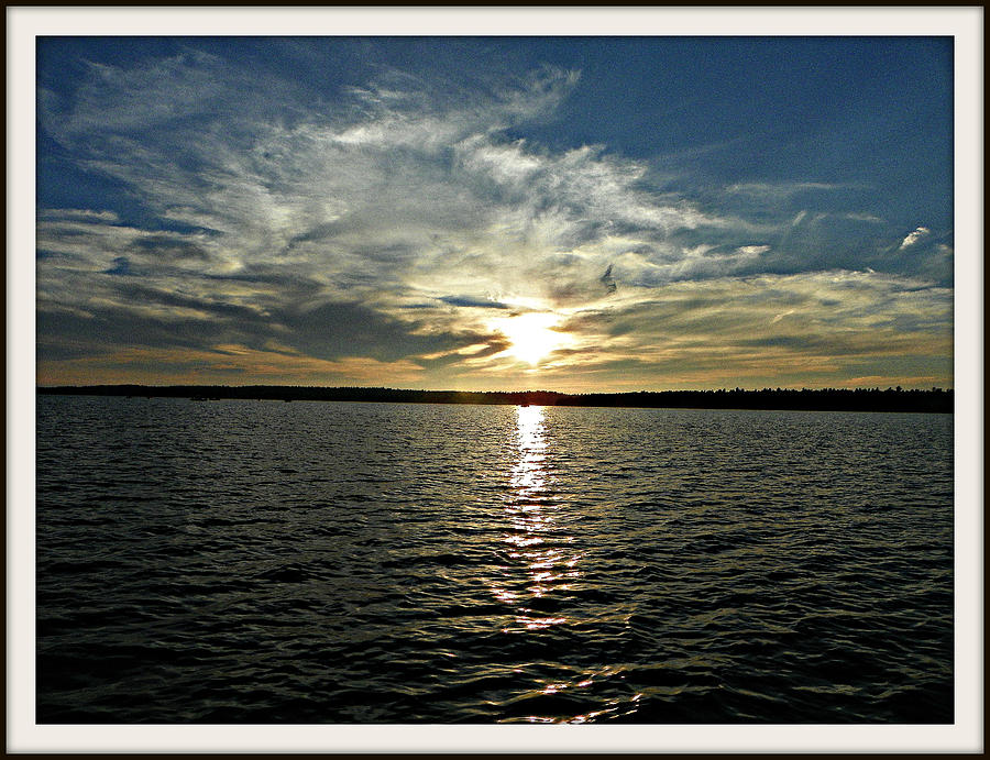 lake Tomiko Sunset Photograph by Dianne  Lacourciere