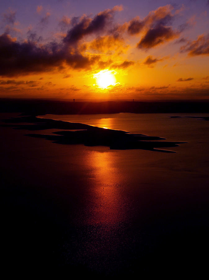 Sunset Photograph - Lake Travis 101112 2 by James Granberry