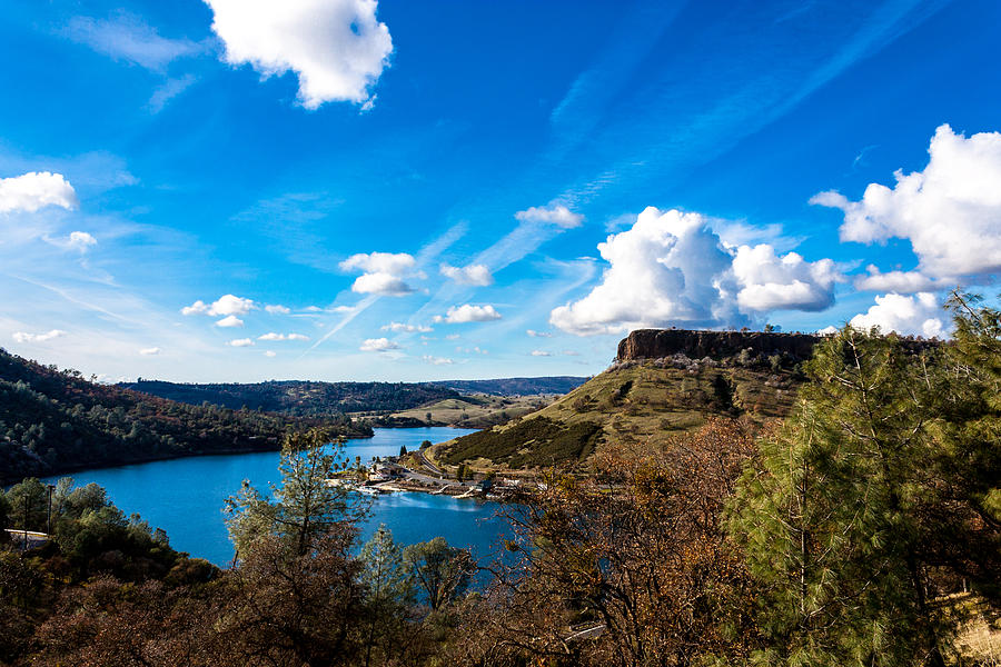 Highway 132 Photograph - Lake Tulloch by John Crowe